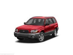Bargain Used 2005 Subaru Forester 2.5 XS SUV JF1SG65675H715165 in Hermantown, MN
