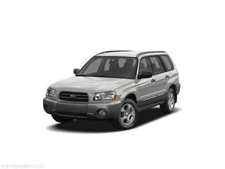 Used 2005 Subaru Forester 2.5 XT SUV Pittsfield, MA