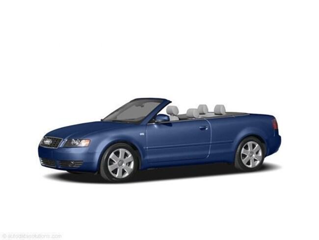2006 Audi A4 1.8T Cabriolet Convertible