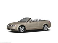 2006 Audi A4 1.8T Cabriolet 1.8T CVT