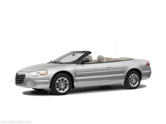 2006 Chrysler Sebring Conv Touring Convertible with Heated Leather/Suede Touring
