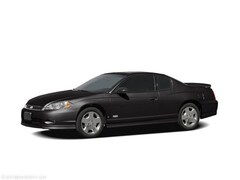 Bargain Used 2006 Chevrolet Monte Carlo LT Coupe 2G1WM16K869311177 in Mahaffey, PA