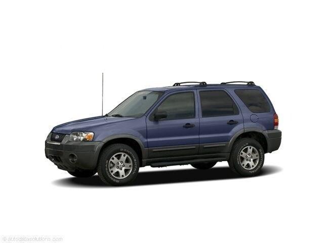 2006 Ford Escape XLS 2.3L XLS Manual 4WD