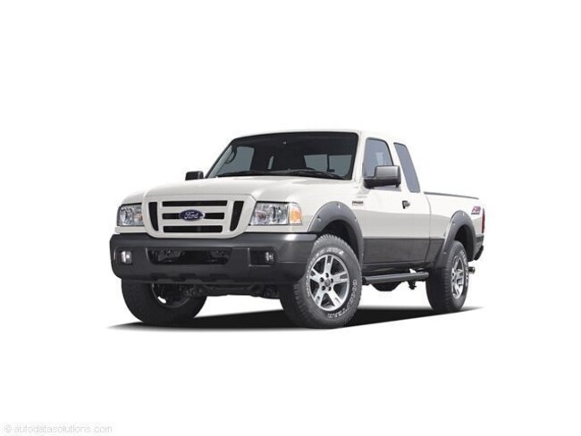 Used 2006 Ford Ranger Truck Super Cab Oxford White For Sale In