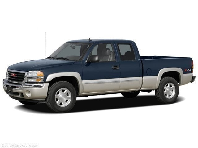 2006 GMC Sierra 1500 Ext Cab 143.5 WB 4WD SLE1 Extended Cab Pickup