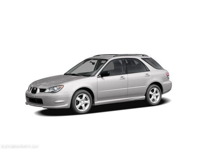 2006 Subaru Impreza WRX Limited w/Off-Black Interior Wagon