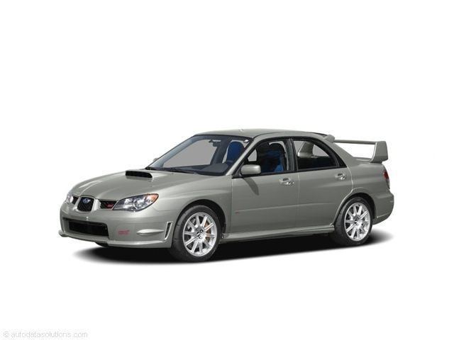 2006 Subaru Impreza WRX STi Base w/Silver-Painted Wheels Sedan