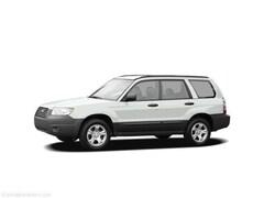 Used 2006 Subaru Forester 2.5X SUV for Sale in Marquette, MI