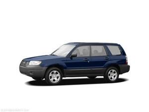 2006 Subaru Forester 4dr 2.5 X Auto Sport Utility