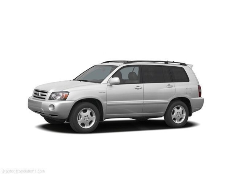Used 2006 Toyota Highlander Limited V6 w/3rd Row SUV for sale in Memphis, TN at Jim Keras Subaru