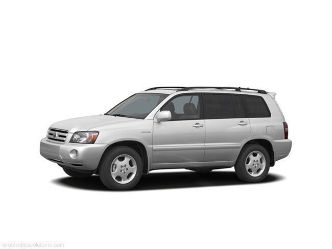 2006 Toyota Highlander Limited w/3rd Row V6 4WD Limited w/3rd Row