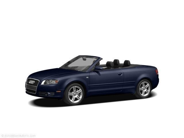 2007 Audi A4 2.0T Cabriolet Convertible