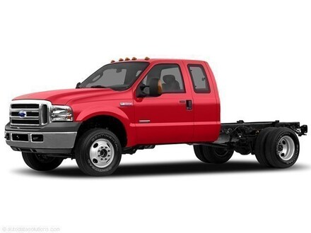 2007 Ford F-550 Chassis Super Duty Truck Super Cab