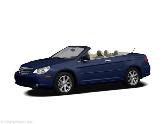 Used 2008 Chrysler Sebring Limited Convertible For Sale in Mt Carmel, IL