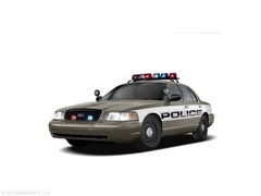 2008 Ford Crown Victoria Police Interceptor w/3.27 Axle Sedan