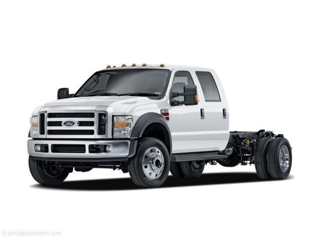 2008 Ford F-350 Chassis 4WD Crew Cab Truck Crew Cab