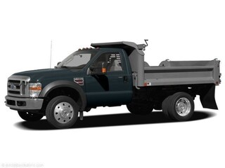 Used 2008 Ford F450 XL V-10 Open Utility Truck for Sale near Levittown, PA, at Burns Auto Group