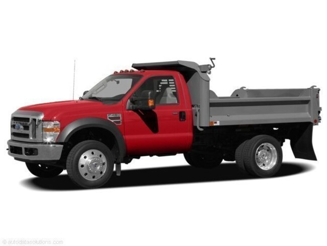 2008 Ford F-550 Chassis Chassis Truck