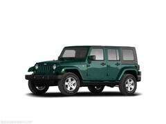 Used 2008 Jeep Wrangler Unlimited X SUV for sale in Parkersburg, WV