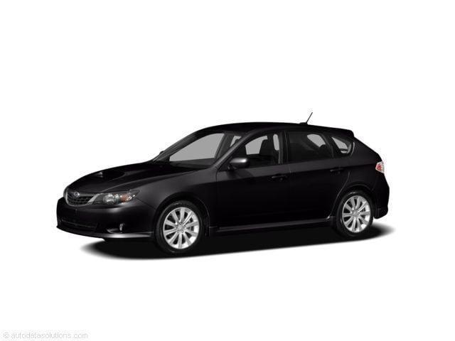 subaru impreza 2008 hatchback wheel size