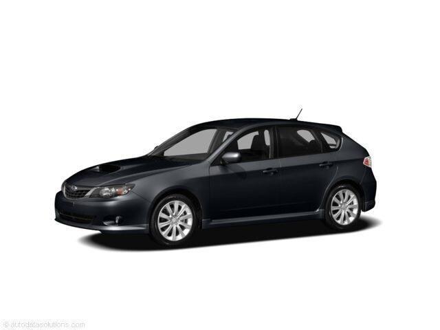 2008 Subaru Impreza Wagon WRX w/Sat/Nav Man WRX w/Sat/Nav