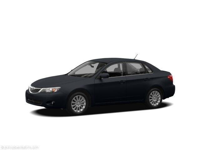 2008 Subaru Impreza WRX w/Premium Pkg Sedan