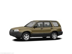 Used 2008 Subaru Forester PREMIUM W/ MOON ROOF + HEATED LEATHER SEATS SUV in North Smithfield near Providence