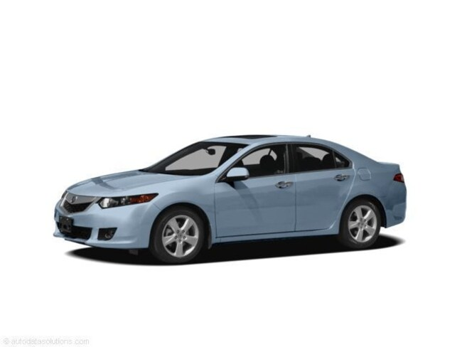 2009 Acura TSX Base w/Technology Pkg Sedan