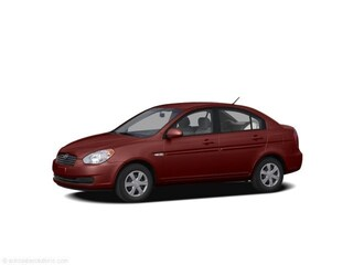 2009 Hyundai Accent GLS Sedan Wine Red Pearl