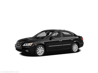 2009 Hyundai Sonata Sedan Ebony Black