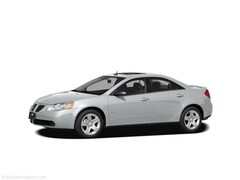 2009 Pontiac G6 4dr Sdn w/1SA *Ltd Avail* Car