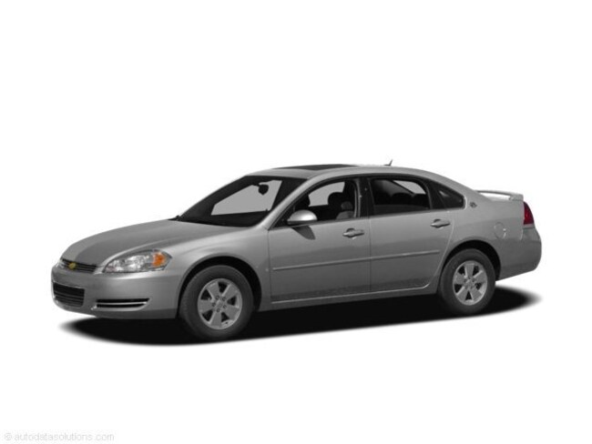 2010 Chevrolet Impala 4drltmoonhseatleath Sedan