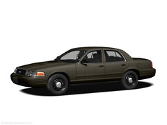 2010 Ford Crown Victoria Police Interceptor Sedan