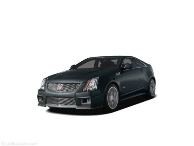 Used 2011 CADILLAC CTS-V Base Coupe in Danbury