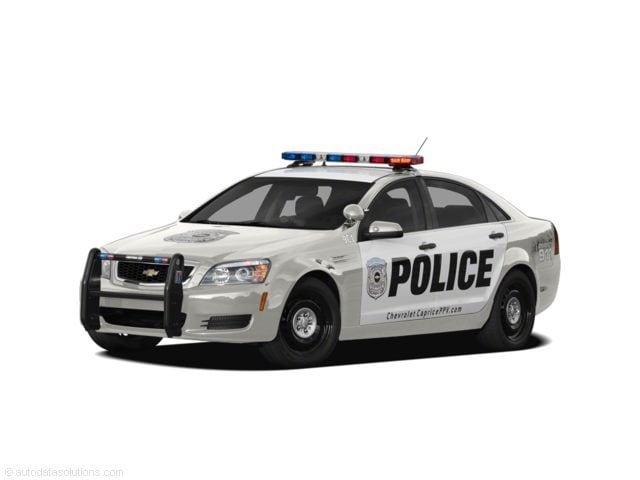2011 Chevrolet Caprice Detective Sedan