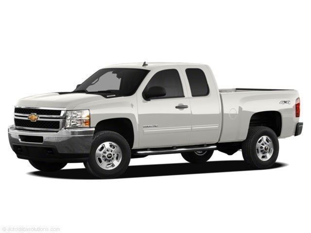 2011 Chevrolet Silverado Work Truck Cab; Extended