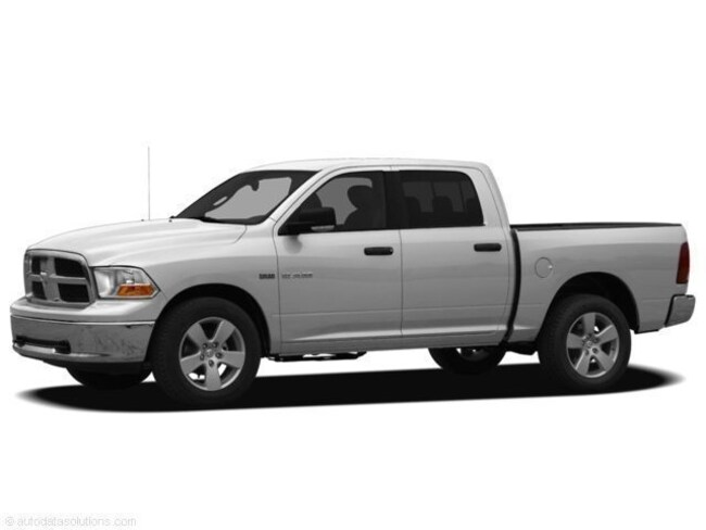 Used 2011 Ram 1500 Laramie Truck Crew Cab Bright Silver For Sale