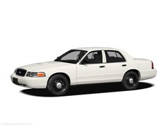 2011 Ford Crown Victoria Police Interceptor w/3.55 LS Axle Sedan