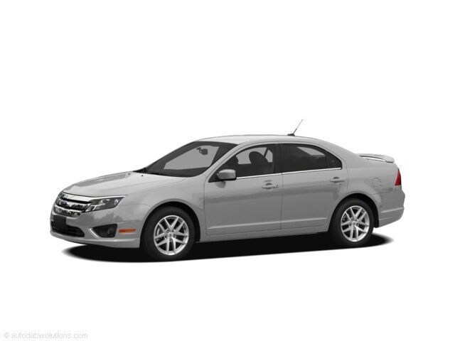 Used 2011 Ford Fusion Sedan Ingot Silver For Sale in