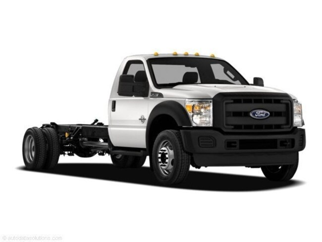 2011 Ford F550 XL Cab Chassis