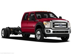 2011 Ford Super Duty F-550 DRW XLT Crew Cab Chassis-Cab