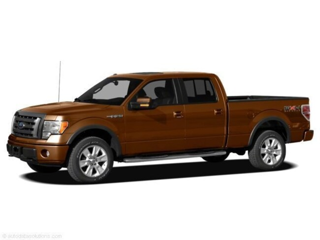 2011 Ford F-150 4WD Supercrew 145  XLT Truck SuperCrew Cab
