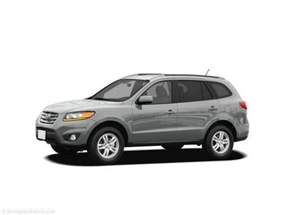 2011 Hyundai Santa Fe SE SUV Moonstone Silver