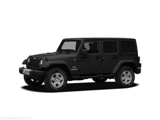2011 Jeep Wrangler Unlimited Sahara SUV