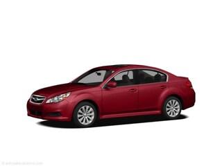 2011 Subaru Legacy 2.5i Sedan 6-Speed