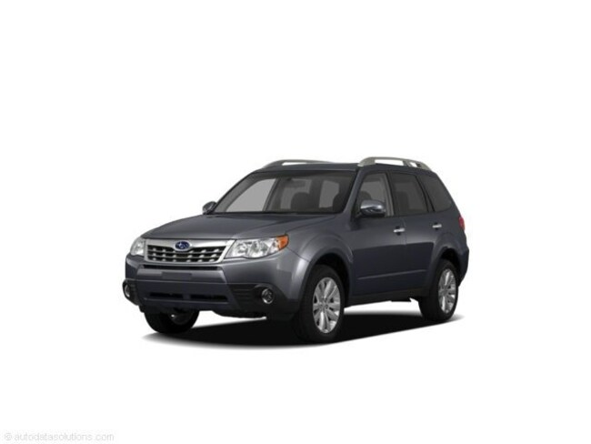 Used 2011 Subaru Forester 2 5X SUV Dark Gray For Sale in Eugene