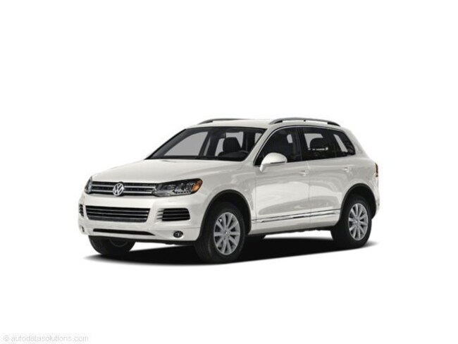 Used 2011 Volkswagen Touareg For Sale at McGrath VW of Dubuque   VIN