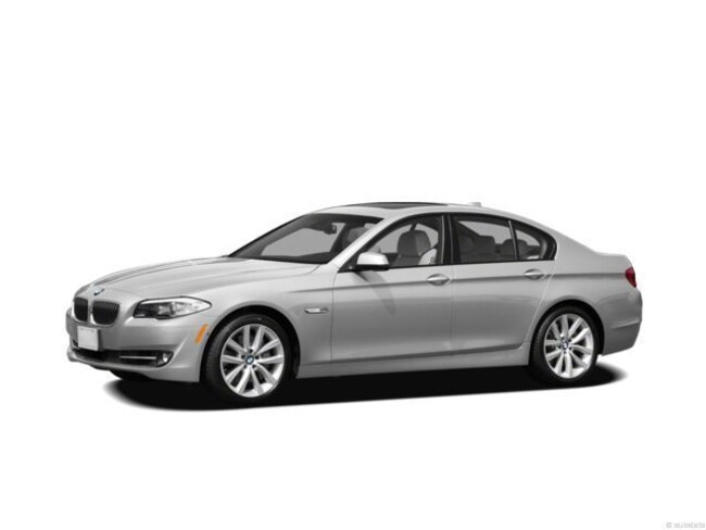 2012 BMW 5 Series 550i Xdrive Sedan