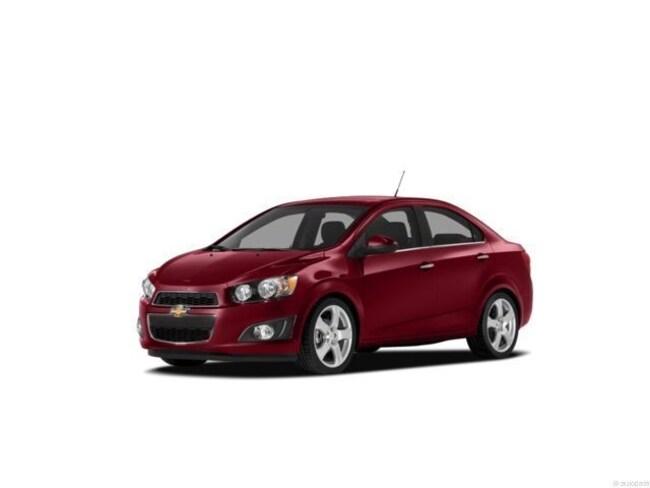 2012 Chevrolet Sonic LS (A6) Sedan