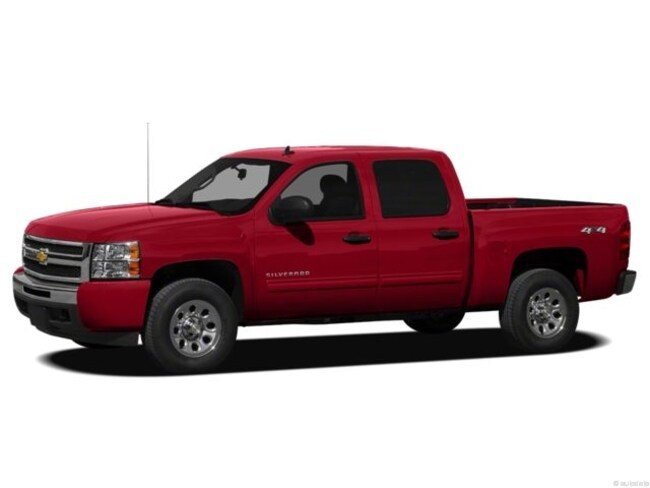 Used 2012 Chevrolet Silverado 1500 2WD Crew Cab 143.5 LT truck for sale in Sherman, TX